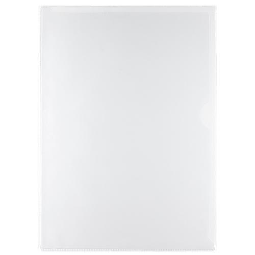 Aktmapp i PVC A4 ofärgad 100/fp