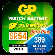 Klockbatteri GP SR54/389