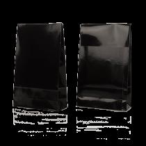 Presentpåsar 200x65x330 mm svart 100/fp