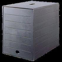 Blankettbox Idealbox Plus svart