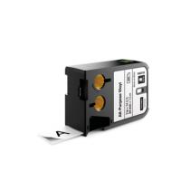 Flerfunktionsvinyl Dymo XTL 24 mm svart/vit