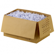 Avfallspåsar i papper Rexel Auto+ 130 26L 20/fp