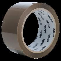 Packtejp Etab PVC 66mx50mm brun