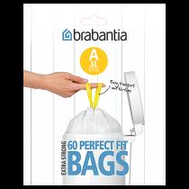 Avfallspåse PerfectFit A 3 liter 60-pack