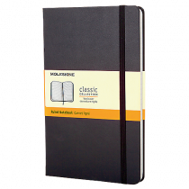 Block Moleskine Hard Pocket linj. svart