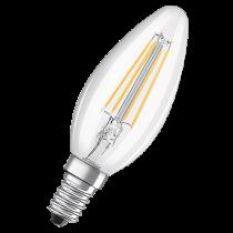 LED-lampa Osram Retrofit Classic A klar 4W E14