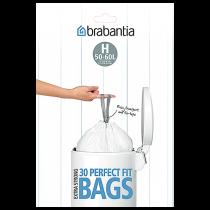 Avfallspåse PerfectFit H 50-60 liter 30-pack