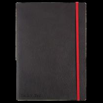 Anteckningsbok Oxford Black n' Red Soft 180x250 mm