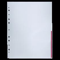 Signalficka Bantex A4 röd 100/fp