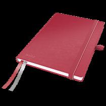 Anteckningsbok Leitz Complete A5 linjerat röd