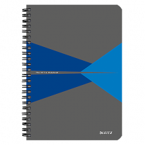 Anteckningsbok Leitz Office A5 linjerat blå
