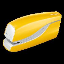 Batteridriven häftare Leitz Wow gul