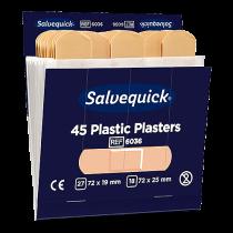 Plastplåster Salvequick 6 refiller/fp