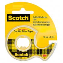 Dubbelhäftande tejp Scotch 665 6mx12mm
