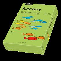 Färgat papper Rainbow A4 160 g grön 250/fp