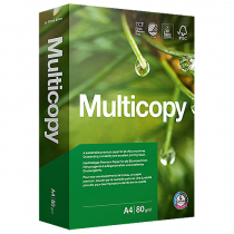 Kopieringspapper Multicopy A4 ohål 115 g 400/fp