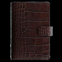 Filofax Classic Croc Pocket chestnut