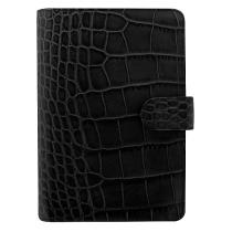 Filofax Classic Croc Personal svart