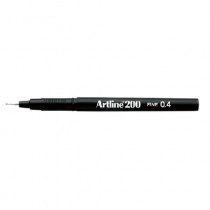 Fiberpenna Fineliner Artline 200 svart