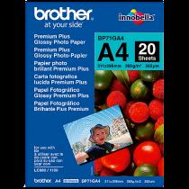 Fotopapper Brother glättat A4 20/fp