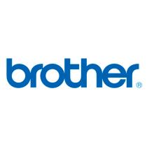 Märktejp Brother MK tape  svart/vit 12 mm