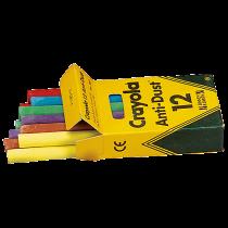Tavelkritor Crayola blandade färger 12/fp