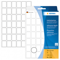 Märketiketter Herma 16x22 mm 1344/fp