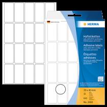 Märketiketter Herma 19x40 mm 640/fp