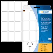 Märketiketter Herma 25x40 mm 512/fp