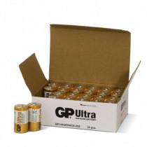 Batterier GP Ultra Alkaline R14 Size C  24ST/FP