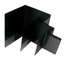 Blockomslag A6 svart