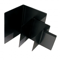 Blockomslag A7 svart