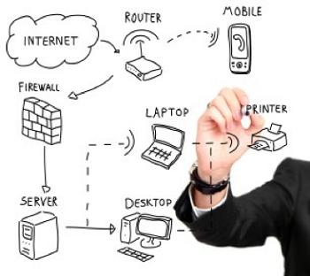 IT-tjänster-nätverk-server-uppdatering-router